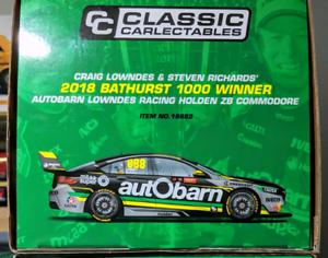 1/18 Craig Lowndes Steven Richards 2018 Bathurst Winner diecast