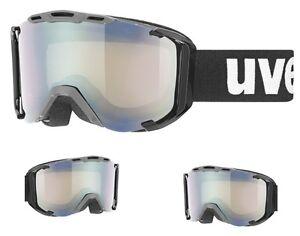 UVEX-SNOWSTRIKE-II-VARIOMATIC-MASCHERA-DA-SCI-BLACK-OPACO
