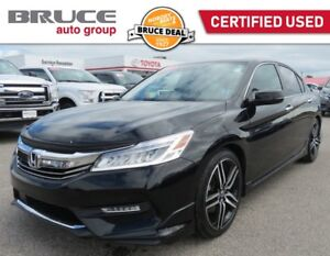 2016 Honda Accord TOURING - LEATHER INTERIOR / NAVIGATION / SUN