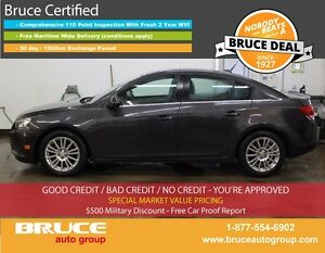 2014 Chevrolet Cruze Eco 1.4L 4 CYL TURBOCHARGED 6 SPD MANUAL 4D