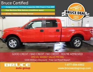 2014 Ford F-150 XLT 5.0L 8 CYL AUTOMATIC 4X4 SUPERCREW SATELLITE