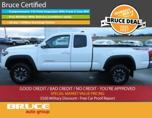 2016 Toyota Tacoma TRD 3.5L 6 CYL 6 SPD MANUAL 4X4 ACCESS CAB SA
