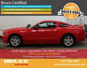 2014 Ford Mustang 3.7L 6 CYL 6 SPD MANUAL RWD 2D COUPE