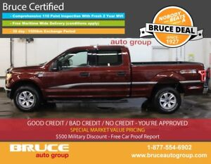 2015 Ford F-150 XLT 3.5L 6 CYL ECOBOOST AUTOMATIC 4X4 SUPERCREW
