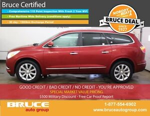 2013 Buick Enclave Premium 3.6L 6 CYL AUTOMATIC AWD HEATED AND C