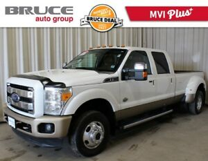 2012 Ford F-350 KING RANCH - LEATHER INTERIOR / 4X4 / DIESEL DUA