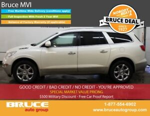 2008 Buick Enclave CXL 3.6L 6 CYL AUTOMATIC AWD LEATHER INTERIOR