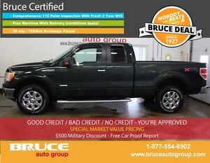 2013 Ford F-150 XTR 3.5L 6 CYL ECOBOOST AUTOMATIC 4X4 SUPERCAB S