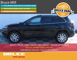 2015 Jeep Cherokee LIMITED 2.4L 4 CYL AUTOMATIC 4WD REMOTE START