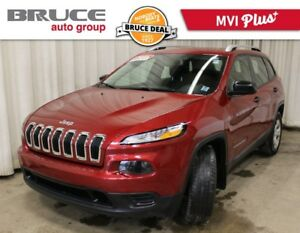 2016 Jeep Cherokee SPORT - HEATED SEATS / 4X4 / POWER PACKAGE