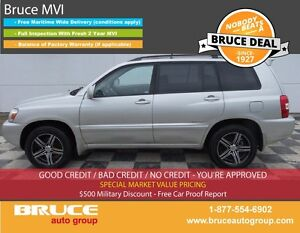 2006 Toyota Highlander HYBRID LIMITED 3.3L 6 CYL CVT AWD HEATED