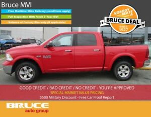 2013 Dodge RAM 1500 OUTDOORSMAN 5.7L 8 CYL AUTOMATIC 4X4 CREW CA