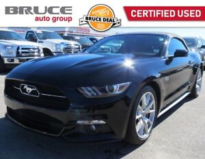 2015 Ford Mustang GT PREMIUM - 50TH ANNIVERSARY EDITION LIKE-NEW