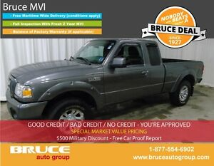 2010 Ford Ranger SPORT 4.0L 6 CYL AUTOMATIC 4X4 SUPERCAB SATELLI