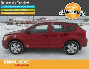 2007 Dodge Caliber SXT 2.0L 4 CYL CVT FWD 5D HATCHBACK