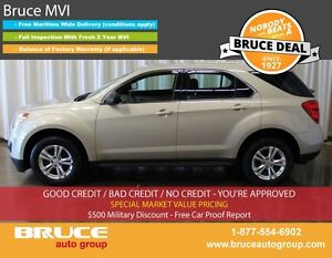 2012 Chevrolet Equinox LS 2.4L 4 CYL AUTOMATIC AWD