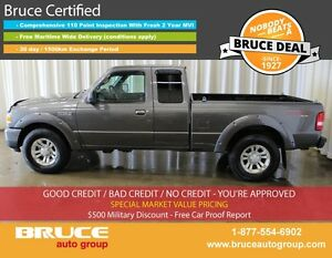 2011 Ford Ranger SPORT 4.0L 6 CYL 5 SPD MANUAL 4X4 SUPERCAB