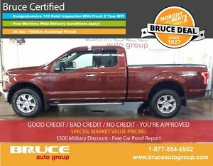 2015 Ford F-150 XTR 5.0L 8 CYL AUTOMATIC 4X4 SUPERCAB SATELLITE