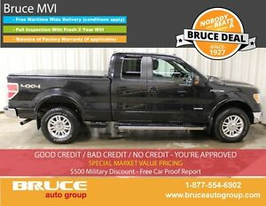 2012 Ford F-150 LARIAT 3.5L 6 CYL ECOBOOST AUTOMATIC 4X4 SUPERCA