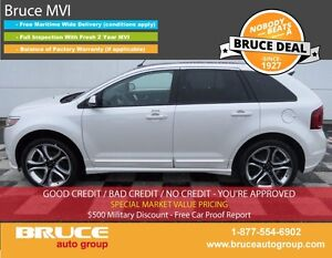 2014 Ford Edge SPORT 3.7L 6 CYL AUTOMATIC AWD LEATHER INTERIOR,