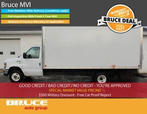 2016 Ford E450 5.4L 8 CYL AUTOMATIC RWD CUBE VAN Lease for 579.0