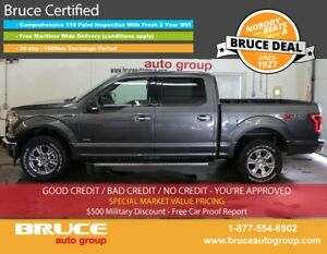 2017 Ford F-150 XTR 3.5L 6 CYL ECOBOOST AUTOMATIC 4X4 SUPERCREW