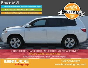 2010 Toyota Highlander LIMITED 3.5L 6 CYL AUTOMATIC AWD SUN ROOF