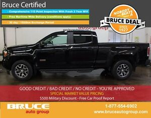 2015 GMC Canyon SLE 3.6L 6 CYL AUTOMATIC 4X4 CREW CAB REMOTE VEH