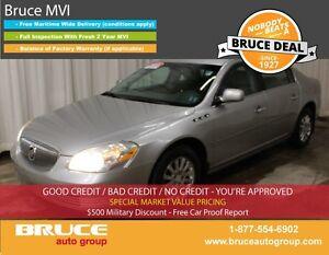 2008 Buick Lucerne CX 3.8L 6 CYL AUTOMATIC FWD 4D SEDAN SATELLIT
