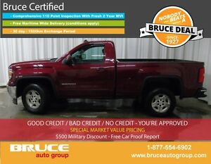 2014 GMC Sierra 1500 SLE 5.3L 8 CYL AUTOMATIC RWD REGULAR CAB RE