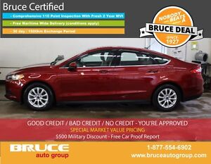 2015 Ford Fusion S 2.5L 4 CYL AUTOMATIC FWD 4D SEDAN HEATED SEAT