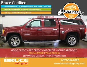2013 GMC Sierra 1500 SLT 5.3L 8 CYL AUTOMATIC 4X4 CREW CAB LEATH