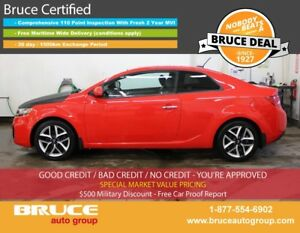 2011 Kia Forte KOUP SX 2.4L 4 CYL 6 SPD MANUAL FWD 2D COUPE LEAT