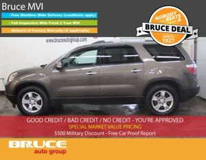 2010 GMC Acadia SLE 3.6L 6 CYL AUTOMATIC FWD 8 PASS. SEATING, RE