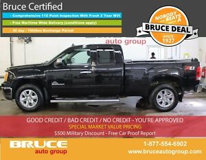 2013 GMC Sierra 1500 Z71 SLE 5.3L 8 CYL AUTOMATIC 4X4 EXTENDED C