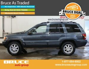 2002 Jeep Grand Cherokee Limited 4.7L 8 CYL AUTOMATIC 4WD