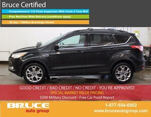 2014 Ford Escape SE 2.0L 4 CYL AUTOMATIC 4WD HEATED SEATS, BACK-