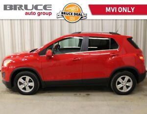 2014 Chevrolet Trax LT 1.4L 4 CYL TURBOCHARGED AUTOMATIC FWD ONL