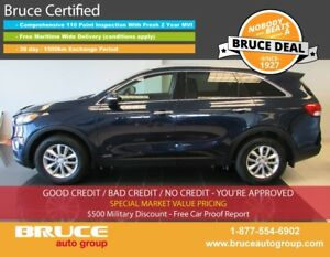 2016 Kia Sorento LX 2.4L 4 CYL AUTOMATIC AWD SATELLITE RADIO, HE