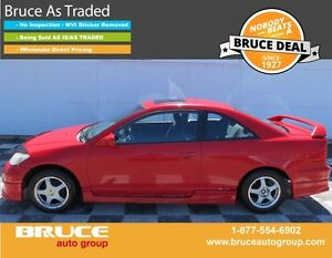 2005 Honda Civic Si-G 1.7L 4 CYL VTEC AUTOMATIC FWD 2D COUPE