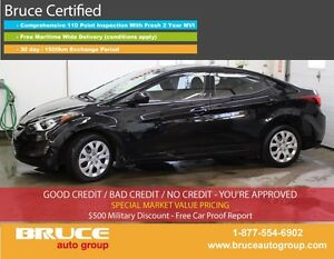 2015 Hyundai Elantra GL 1.8L 4 CYL 6 SPD MANUAL FWD 4D SEDAN