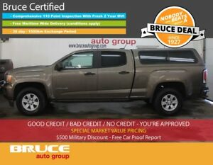 2015 GMC Canyon 3.6L 6 CYL AUTOMATIC RWD CREW CAB BACK-UP CAMERA
