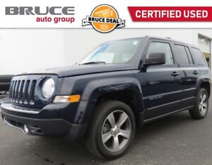 2016 Jeep Patriot HIGH ALTITUDE - LEATHER / 4WD / SUN ROOF
