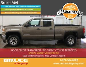 2014 GMC Sierra 1500 WT 4.3L 6 CYL AUTOMATIC 4X4 EXTENDED CAB SP