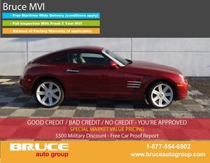 2005 Chrysler Crossfire LIMITED 3.2L 6 CYL 6 SPD MANUAL RWD 2D C