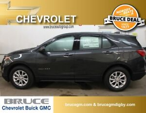 2018 Chevrolet Equinox LS 1.5L 4 CYL TURBO AUTOMATIC FWD