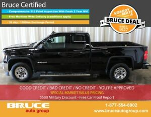 2016 GMC Sierra 1500 WT 5.3L 8 CYL AUTOMATIC 4X4 EXTENDED CAB 4G