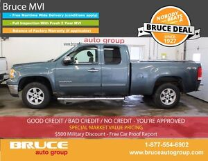 2010 GMC Sierra 1500 SLE 5.3L 8 CYL AUTOMATIC 4X4 EXTENDED CAB