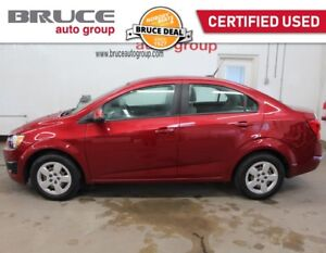 2014 Chevrolet Sonic LS 1.8L 4 CYL MANUAL - BLUETOOTH / ONSTAR