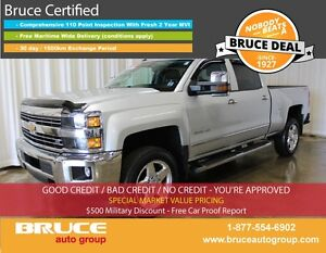 2015 Chevrolet Silverado 2500 HD LTZ 6.0L 8 CYL AUTOMATIC 4X4 CR